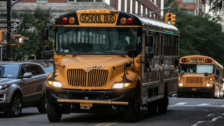 New York City high schools are reopening for in-person learning on Monday