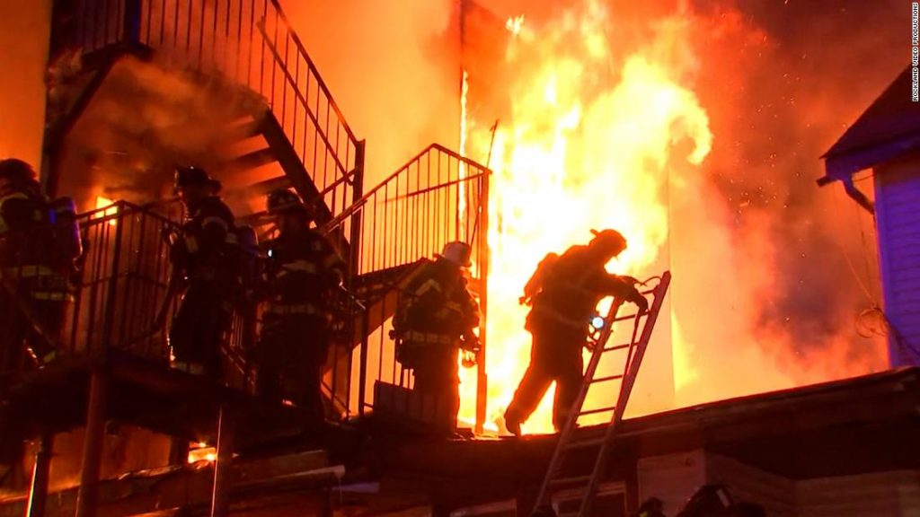 Spring Valley, NY: One firefighter and some residents are unaccounted for in fire at New York senior center