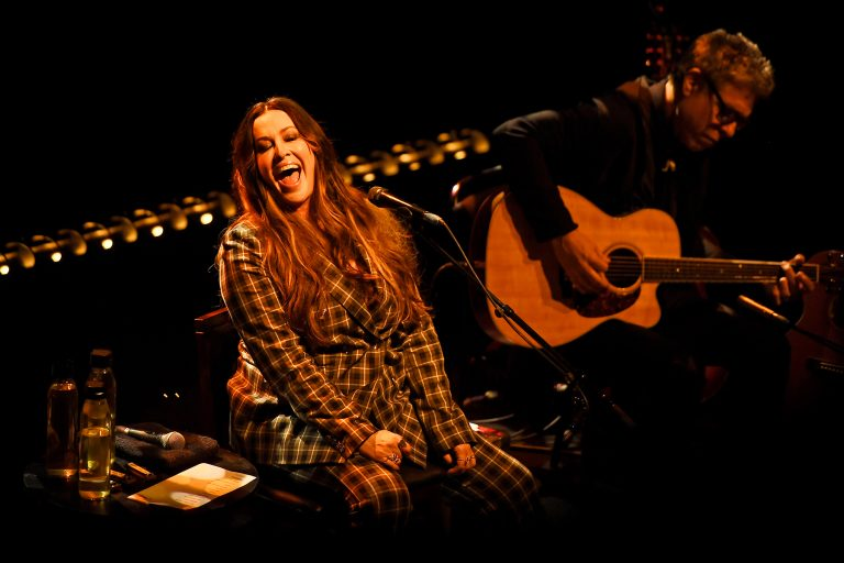 Photo by: KGC-138/STAR MAX/IPx 2020 3/4/20 Alanis Morissette performs at Shepherd's Bush Empire in London, England.