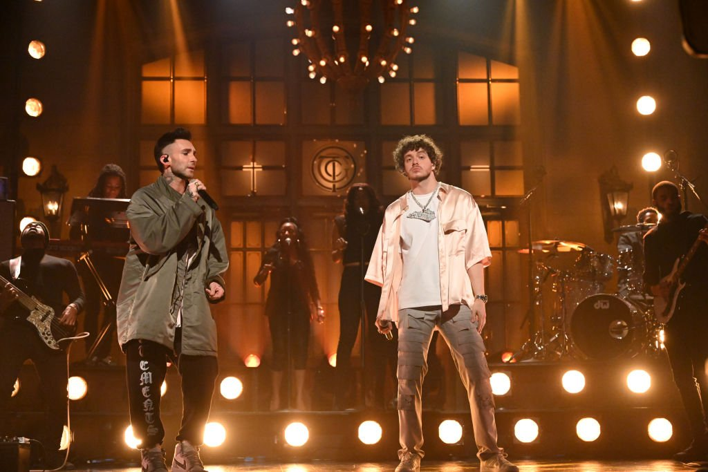 See Jack Harlow Bring Out Adam Levine to Perform 'Same Guy' on 'SNL'