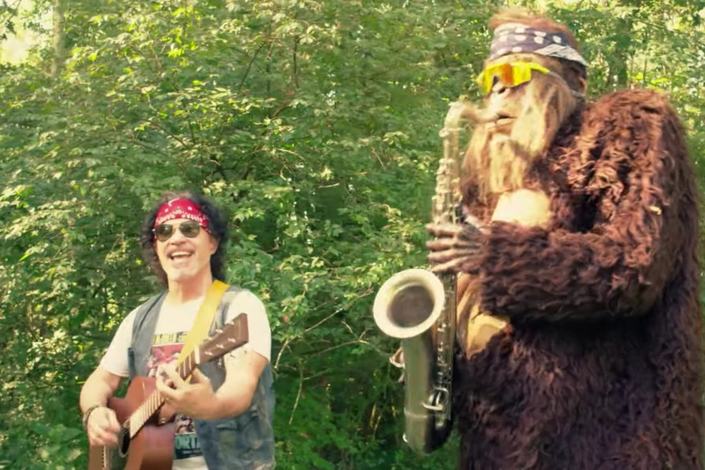 John Oates Teams With Saxsquatch for EDM Version of 'Maneater'