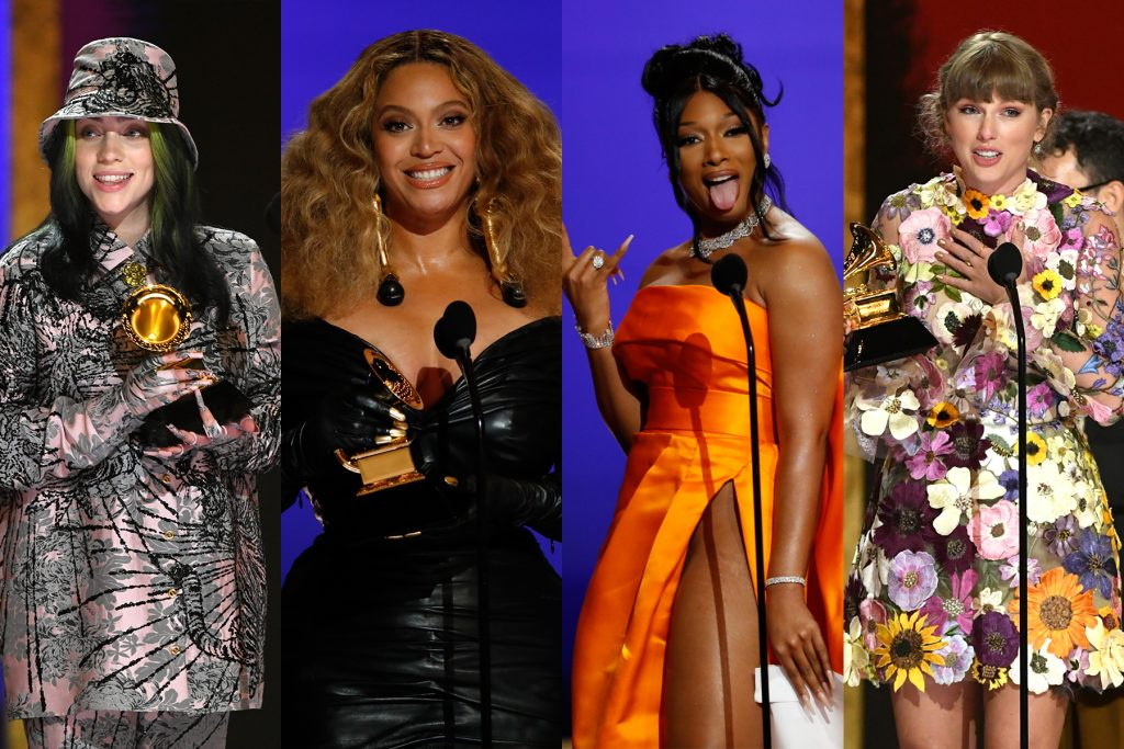Grammys 2021: Beyoncé, Megan Thee Stallion, Billie Eilish Win Big
