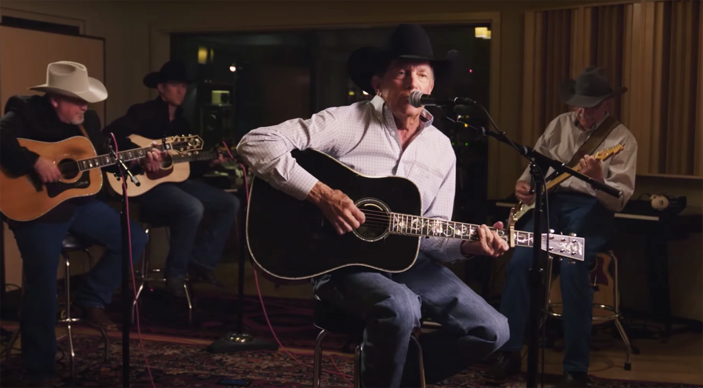 George Strait at We're Texas Concert: Watch 'Troubadour'