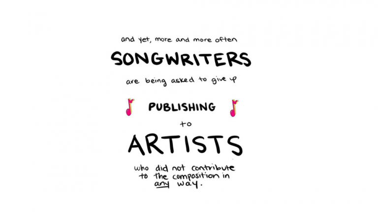 Songwriters Call for Artists to Stop Taking Unfair Royalties