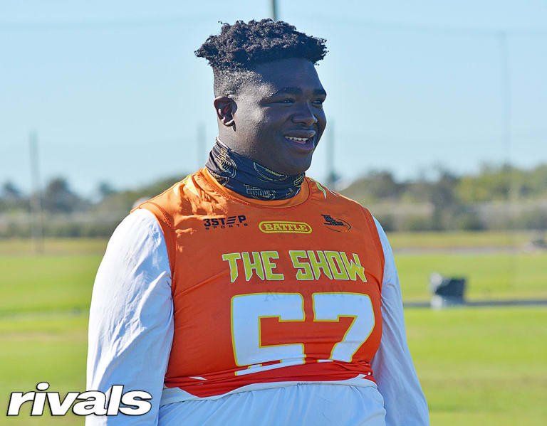 Big 12 virtual visit impresses OL Knijeah Harris