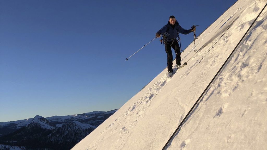 How Two Skiers Conquered Half Dome : NPR