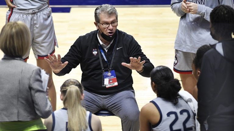 UConn Again A Top Seed. But Starting Without Its Famed Coach : NPR