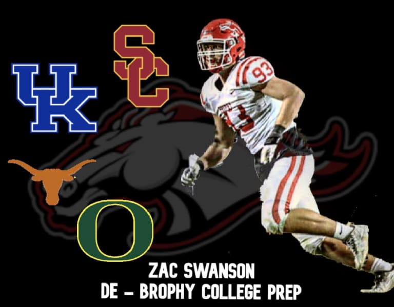 Four-star DE Zac Swanson breaks down top four