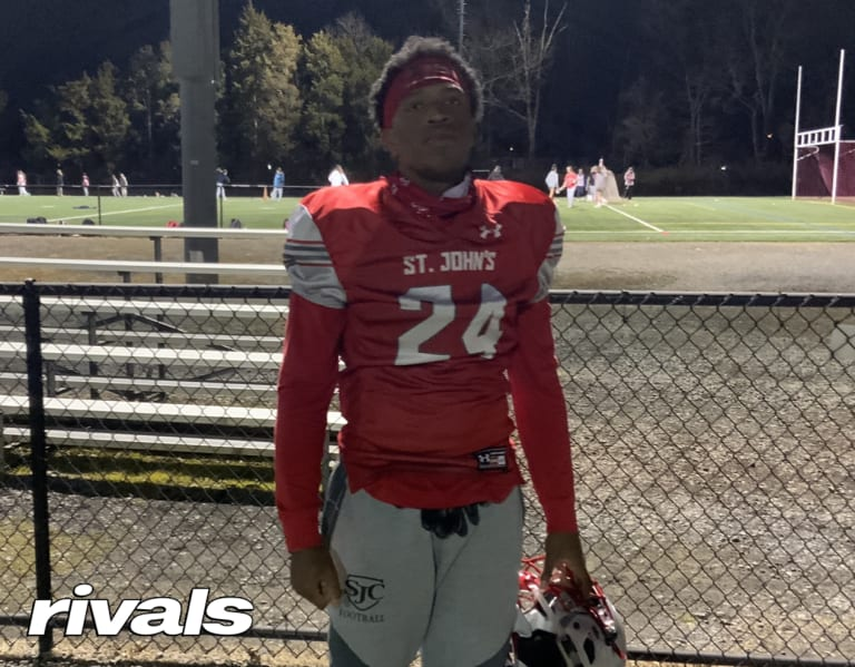 The dead period is slowing down DB Josh Thompson's recruitment