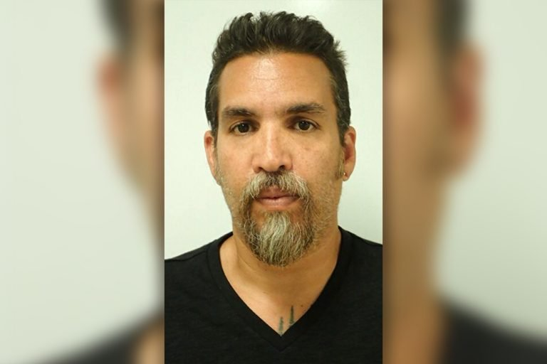 Oakland Ghost Ship warehouse operator Derick Almena seen in two police mugshots after being arrested and charged with 36 counts of involuntary manslaughter. The deadly fire at an organized party in the art commune known as the 'Ghost Ship' killed 36 people on December 2, 2016. Almena, 47, ran the warehouse in Oakland, California, subletting it to tenants while also holding regular party events. The father-of-three was arrested in Upper Lake, California on Monday June 5 and then transferred to Santa Rita jail in Dublin, California, later that day. He will be arraigned in Alameda County Superior Court on Thursday June 8. Max Harris, 27, a warehouse tenant , was also charged with 36 counts of involuntary manslaughter and prosecutors believe he planned the doomed party and in his preparation blocked off two exits from the second floor leaving the only escape route as a makeshift staircase made of wood pallets. Almena's bail was set at $1m. Seen here is his initial mugshot in Lake County, California and his second booking photo taken after he was transferred to Santa Rita jail. 05 Jun 2017 Pictured: Derick Almena in his Lake County Sheriff booking photo after being charged with 36 counts of involuntary manslaughter in connection with the Oakland Ghost Ship fire on Dec 2. Photo credit: Alameda County Sheriff /MEGA TheMegaAgency.com +1 888 505 6342 (Mega Agency TagID: MEGA41043_002.jpg) [Photo via Mega Agency]