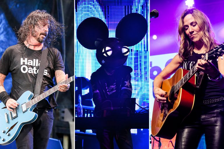 foo fighters deadmau5 sheryl crow rock n relief