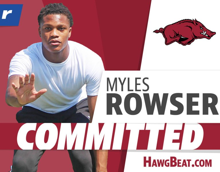 Analysis: Rivals100 DB Myles Rowser to Arkansas