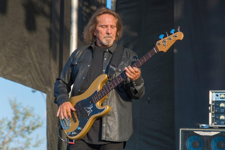 Geezer Butler of Deadland Ritual performs during Louder Than Life at Highland Festival Grounds at KY Expo Center on Sunday, Sept. 29, 2019, in Louisville, Ky. (Photo by Amy Harris/Invision/AP)