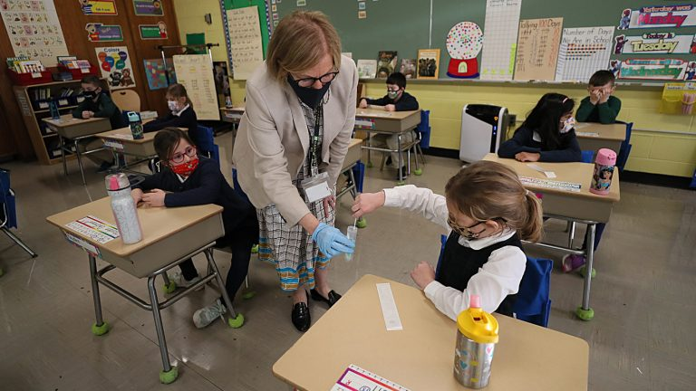 White House Announces $10 Billion For COVID-19 Testing In Schools : Coronavirus Updates : NPR