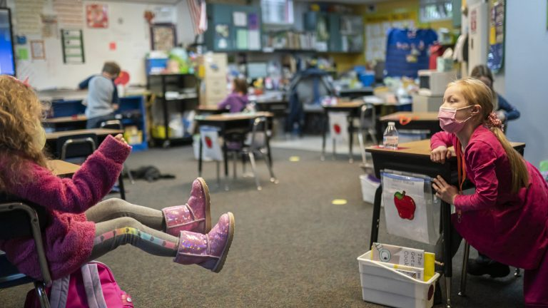CDC Looks At Whether 3 Feet Is Safe For Schools' Social Distancing : Coronavirus Updates : NPR