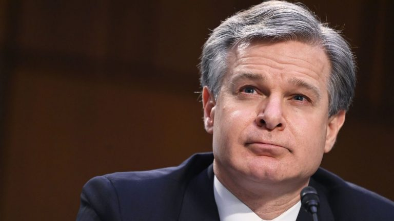 Wray Defends FBI's Intelligence Sharing Ahead Of Capitol Riot : NPR