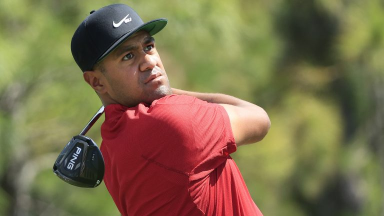 Tiger Woods Thanks Golfers For Wearing Red In His Honor On Sunday : NPR
