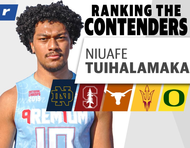 Ranking the Contenders: Four-star LB Niuafe Tuihalamaka