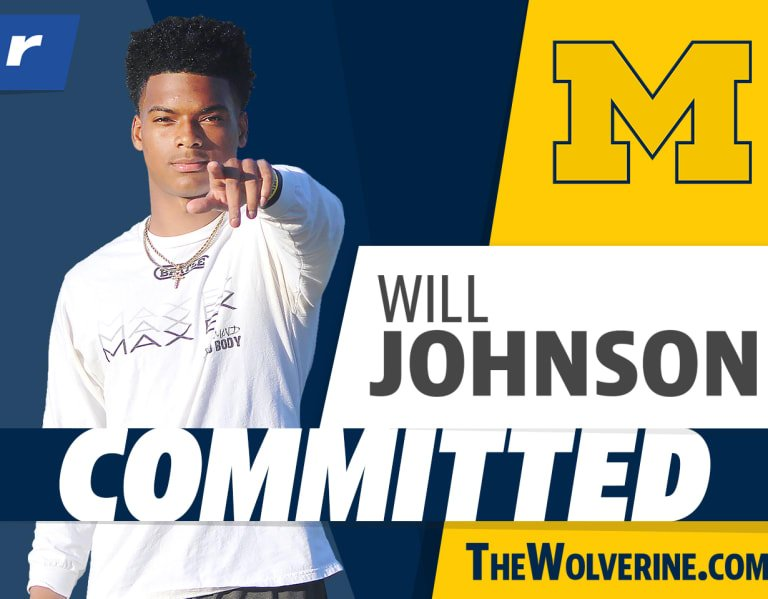 Five-star Will Johnson continues the legacy, picks Michigan