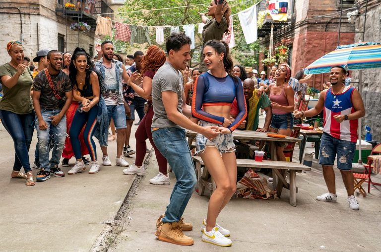 In The Heights, Anthony Ramos, Melissa Barrera