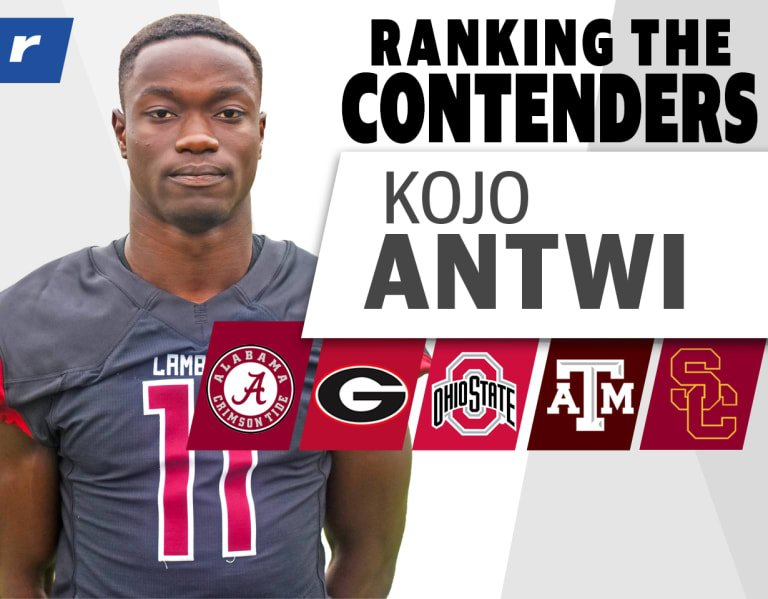 Ranking the Contenders: Four-star WR Kojo Antwi