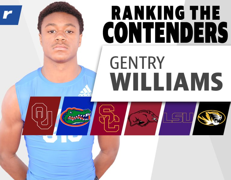 Ranking the Contenders: Gentry Williams