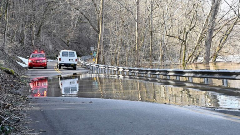 Major flooding continues South as new storm to bring snow to California and Southwest
