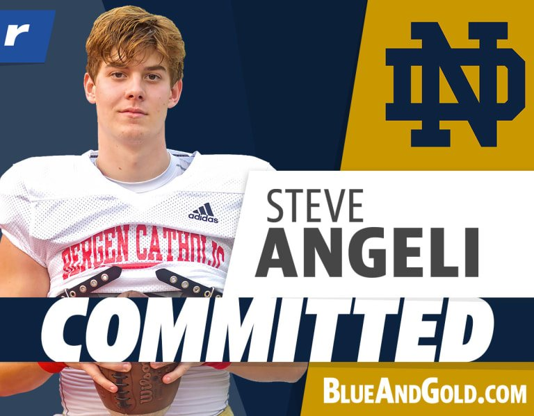 Four-star QB Steven Angeli picks Notre Dame