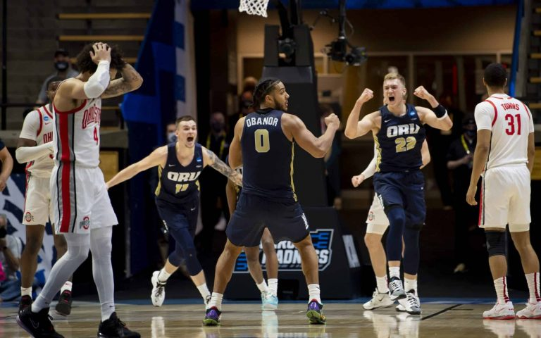 15-seed Oral Roberts headlines fantastic First Round Friday