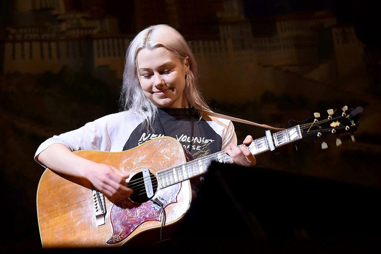 NEW YORK, NEW YORK - FEBRUARY 26: Phoebe Bridgers rehearses on stage during the 33nd Annual Tibet House US Benefit Concert & Gala on February 26, 2020 in New York City. (Photo by Ilya S. Savenok/Getty Images for Tibet House)