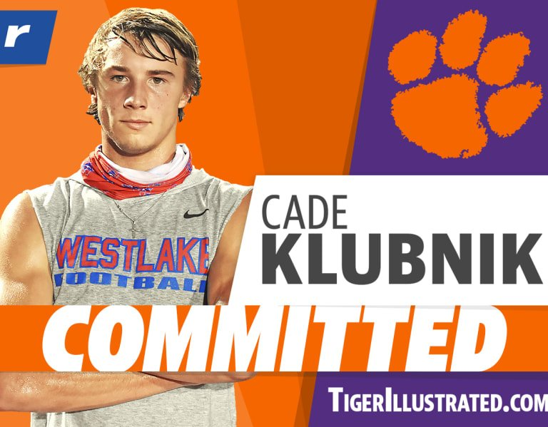 Rivals100 QB Cade Klubnik to Clemson: 'The long wait is over'