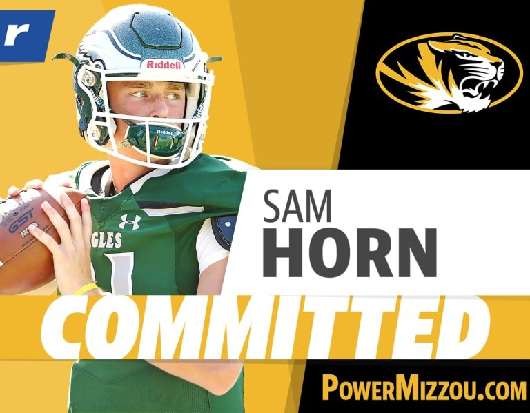 Top 100 QB Sam Horn commits to Missouri