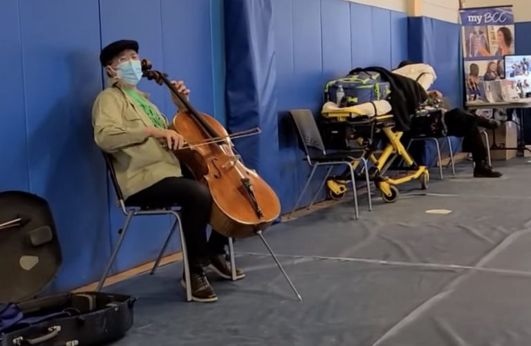 Watch Yo-Yo Ma Perform at Vaccine Center After Receiving Second Shot