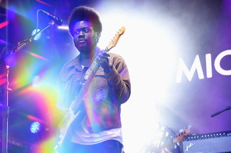 Michael Kiwanuka performs onstage during the 2017 Governors Ball Music Festival - Day 1 at Randall's Island on June 2, 2017 in New York City.