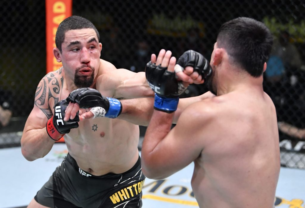 Robert Whittaker ready for title rematch after win