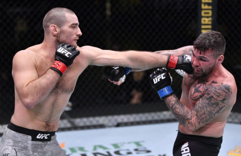 Sean Strickland is the fighter to watch