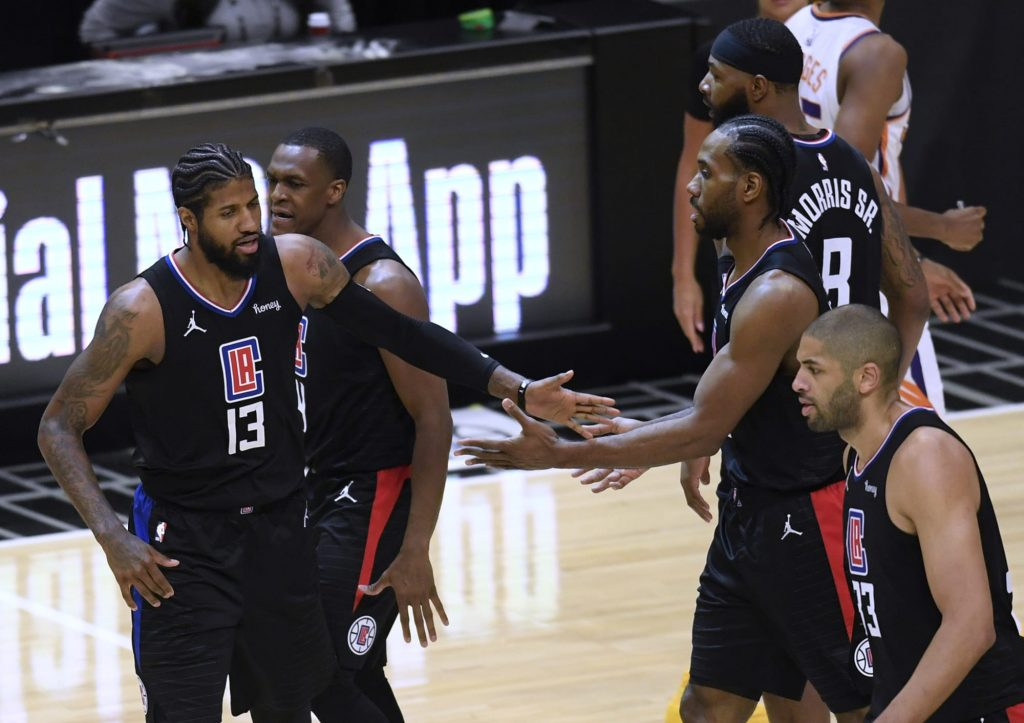 The Los Angeles Clippers are emerging as NBA title favorites