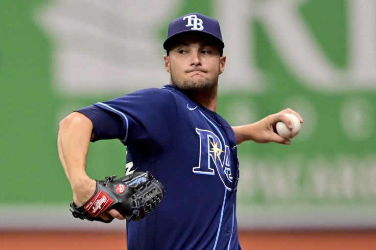 Rays rookie pitcher Shane McClanahan is killing it in his major league debut