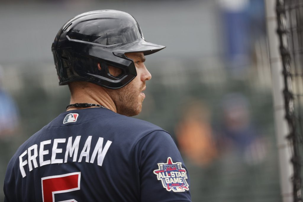 Freddie Freeman's advanced stats show he's gotten extremely unlucky in slow start