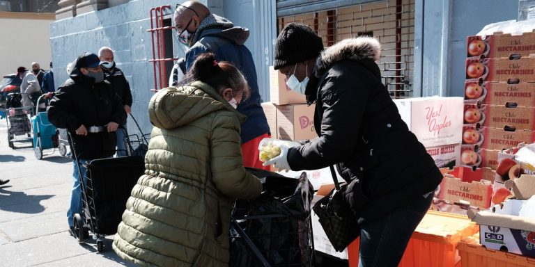 New York City Is Reopening But Many Families Still Turn to Food Pantries