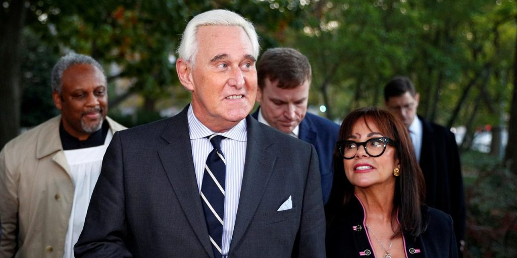 Roger Stone Is Sued as U.S. Government Alleges Unpaid Taxes