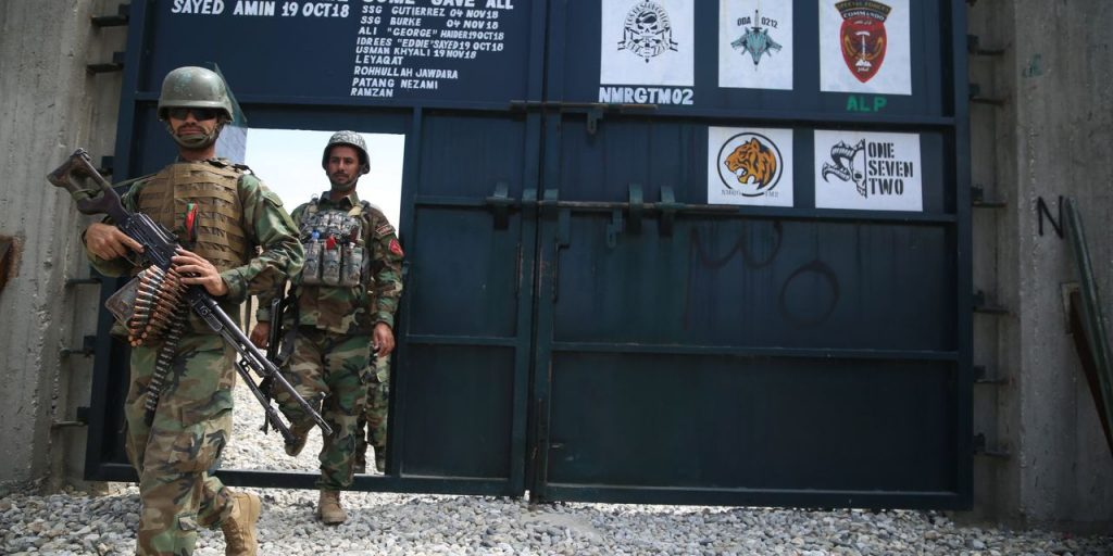 Biden Rebuffed Commanders' Advice in Decision to Leave Afghanistan
