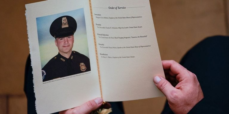 Capitol Police Officer Brian Sicknick Died of Stroke, D.C. Medical Examiner Says