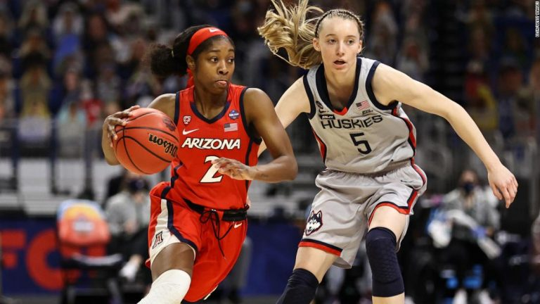 NCAA women's Final Four: Arizona stuns UConn, sets up national title game with Stanford
