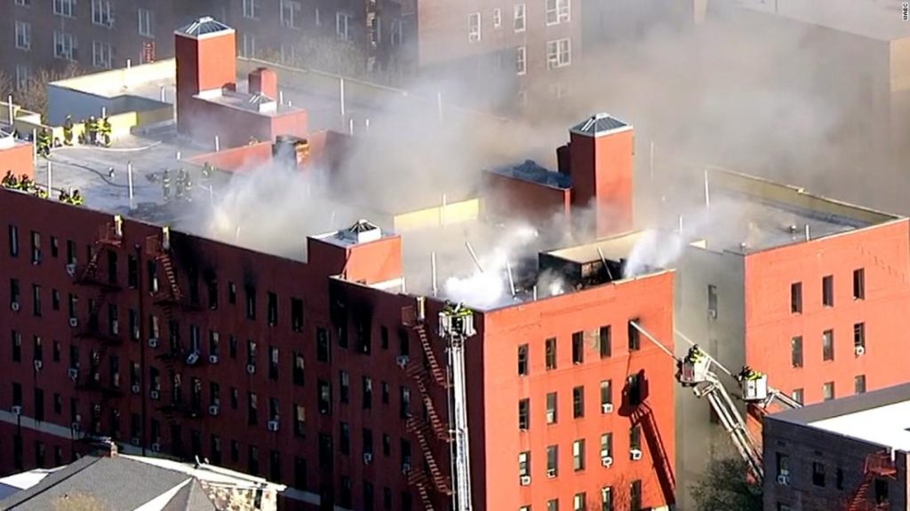 Jackson Heights fire: 21 people injured in 8-alarm fire at an apartment building in
