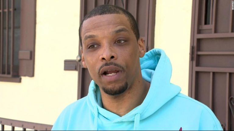 LAPD officers are accused of racial profiling during an arrest of a Black man outside his home