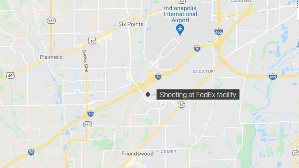 FedEx shooting Indianapolis: Police responding to a 'mass casualty situation,' spokesman says