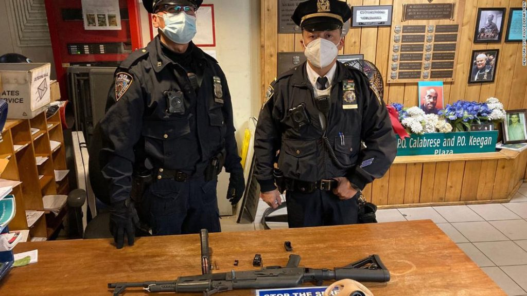 Times Square: Teen arrested with AK-47 in subway station, police say