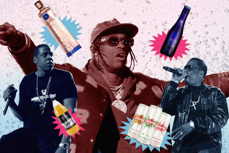 Travis Scott's Cacti and the History of Hip-Hop Liquor Deals