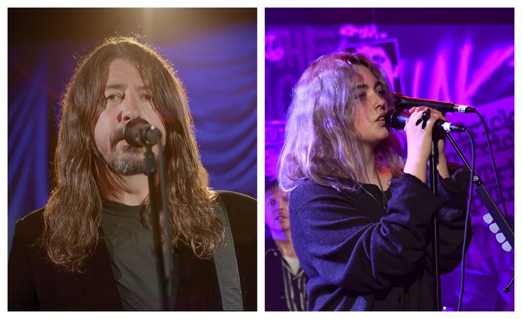 Dave Grohl, Daughter Violet Drop Cover of X's 'Nausea'